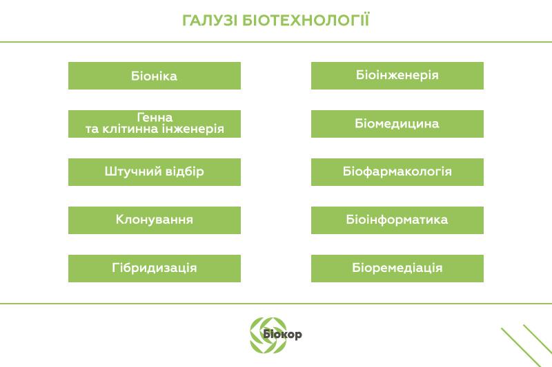 Методи й основні напрямки біотехнології